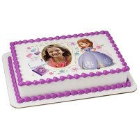 Sofia the First - Dreaming in the Garden Photo Cake Frame