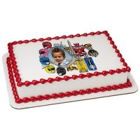 Power Rangers - Power! Photo Cake Frame