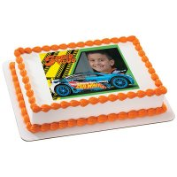 Hot Wheels - Driven to Thrill Photo Cake Frame