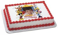 Mickey Mouse & Friends - Birthday Fun Photo Cake Frame