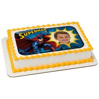 Superman - Saves The Day Photo Cake Frame