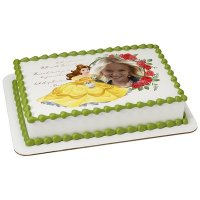 Disney Princess - Beauty and The Beast Photo Cake Frame