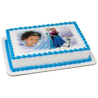 Frozen - A Winter's Tale Photo Cake Frame