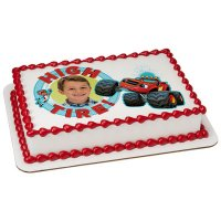Blaze - High Tire! Photo Cake Frame