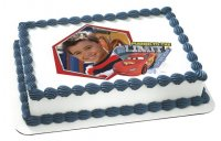 Cars - Push to the Limit Photo Cake Frame