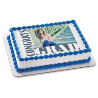 Graduation - Congrats Grad Photo Cake Frame
