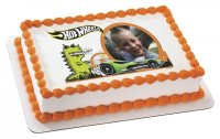 Hot Wheels - Speed Monster Photo Cake Frame