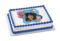 Bubble Guppies - Gil, Molly & Bubble Puppy Photo Cake Frame