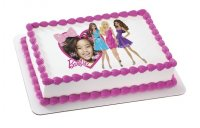Barbie - Heart & Bows Photo Cake Frame