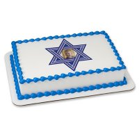 Religious - Star Of David Photo Cake Frame