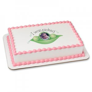 Adoption - I Was Picked Photo Cake Frame
