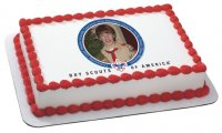 Boy Scouts - Troop Celebration Photo Cake Frame