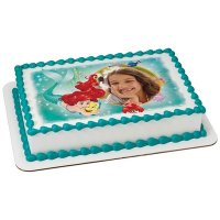Disney Princess - Little Mermaid Ariel Besties Photo Cake Frame