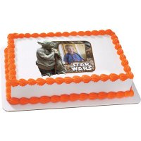 Star Wars - Yoda Photo Cake Frame