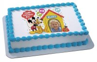 Mickey Mouse & Friends - Birthday Stars Photo Cake Frame