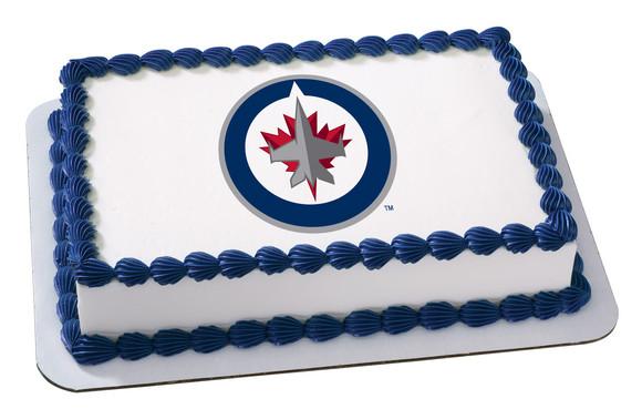 NHL Winnipeg Jets EP15711 899 Edible Prints Frosting