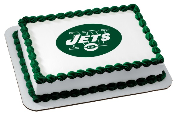 NFL New York Jets EP4578 899 Edible Prints Frosting