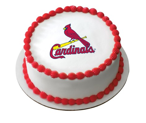MLB St Louis Cardinals EP4644 899 Edible Prints Frosting