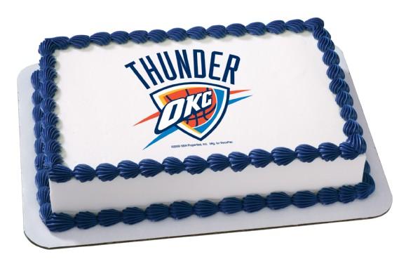 Nba Oklahoma City Thunder: Sheet Cake Prints At Alzheimers-prions.com